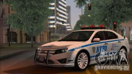 Ford Fusion NYPD v2.0 для GTA San Andreas