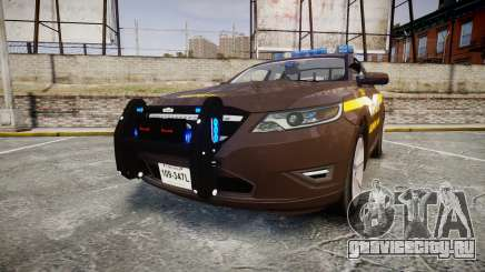 Ford Taurus Sheriff [ELS] Virginia для GTA 4