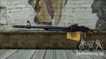 Пулемет Калашникова Модернизированный для GTA San Andreas
