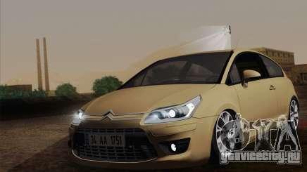 Citroen C4 VTS 2010 для GTA San Andreas