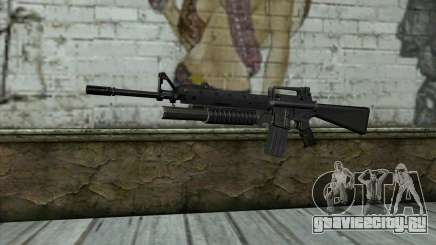 М16A4 с подствольником М203 для GTA San Andreas