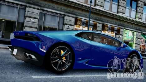 Lamborghini Huracan LP610-4 from Horizon 2 для GTA 4 вид справа