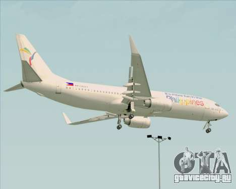 Boeing 737-800 South East Asian Airlines (SEAIR) для GTA San Andreas вид сзади
