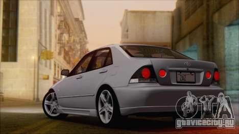 Toyota Altezza (RS200) 2004 (HQLM) для GTA San Andreas вид слева