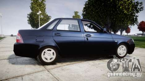 ВАЗ-2170 Lada Priora stock для GTA 4 вид слева