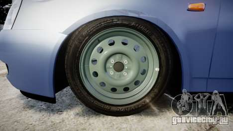 ВАЗ-2170 Lada Priora Quality v2.0 для GTA 4 вид сзади