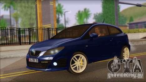 Seat Ibiza Cupra 2010 для GTA San Andreas
