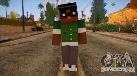 Bigsmoke Minecraft Skin для GTA San Andreas