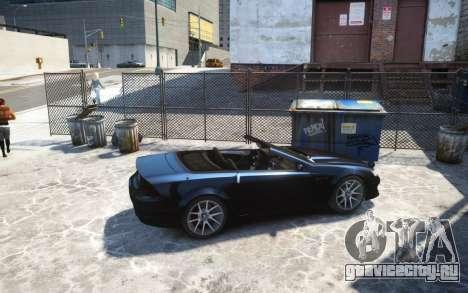 Benefactor Feltzer Grey Series v3 для GTA 4 вид слева