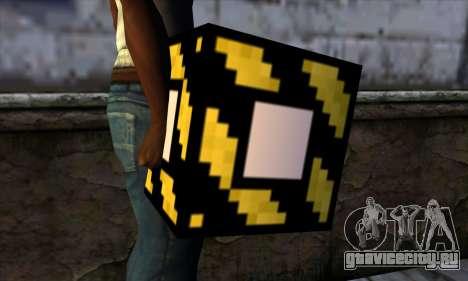 Блок (Minecraft) v4 для GTA San Andreas третий скриншот