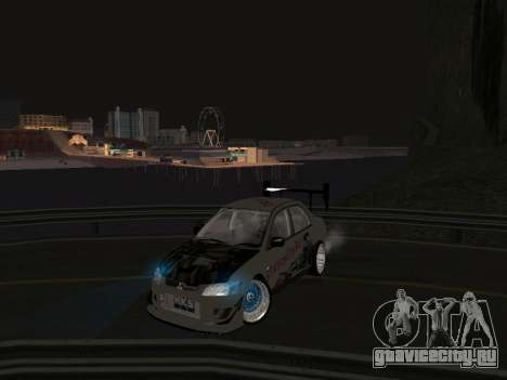Mitsubishi Lancer Evo 9 VCDT для GTA San Andreas