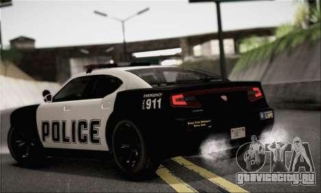 Bravado Buffalo S Police Edition (IVF) для GTA San Andreas вид слева