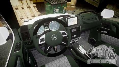 Mercedes-Benz G55 AMG Grand Edition Hamann для GTA 4 вид изнутри