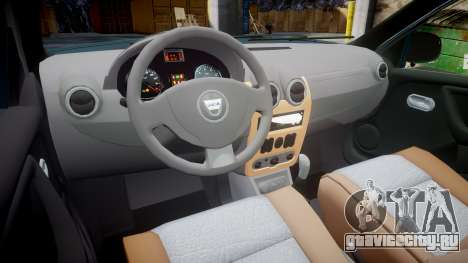 Dacia Duster 2013 для GTA 4 вид сзади