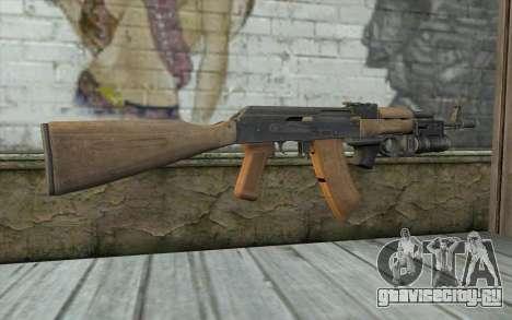 AK-74 С Подствольником для GTA San Andreas второй скриншот