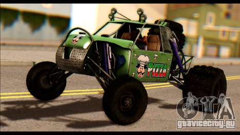 Buggy Fireball from Fireburst PJ для GTA San Andreas