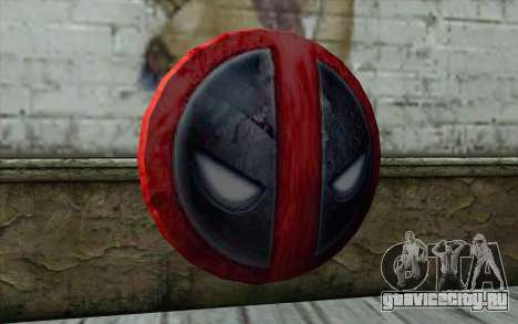 DeadPool Shield v1 для GTA San Andreas