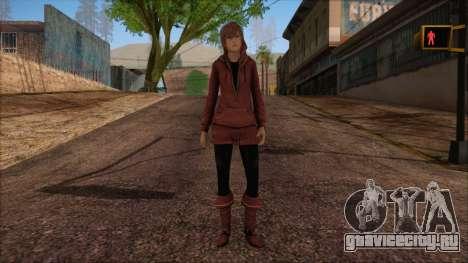 Modern Woman Skin 17 для GTA San Andreas