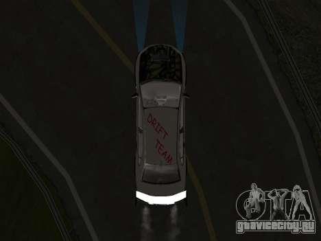 Mitsubishi Lancer Evo 9 VCDT для GTA San Andreas вид сзади слева