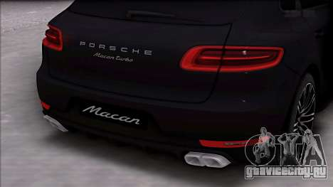 Porsche Macan Turbo для GTA San Andreas вид справа