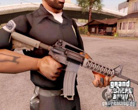 M4A1 BF4 для GTA San Andreas