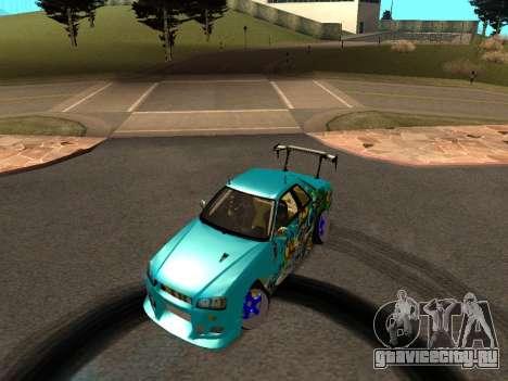 Nissan Skyline R34 EvilEmpire для GTA San Andreas