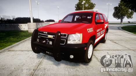 Chevrolet Tahoe Fire Chief [ELS] для GTA 4