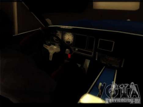 Новые Пикадор для GTA San Andreas вид сбоку