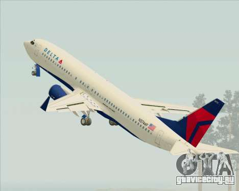 Boeing 737-800 Delta Airlines для GTA San Andreas