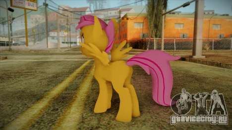 Scootaloo from My Little Pony для GTA San Andreas второй скриншот