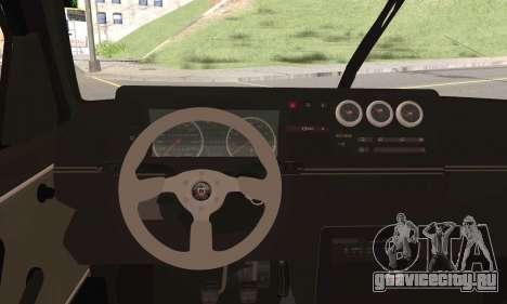 Volkswagen Jetta для GTA San Andreas вид сзади слева
