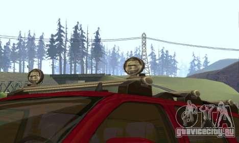 Chevrolet Tahoe Final для GTA San Andreas вид изнутри
