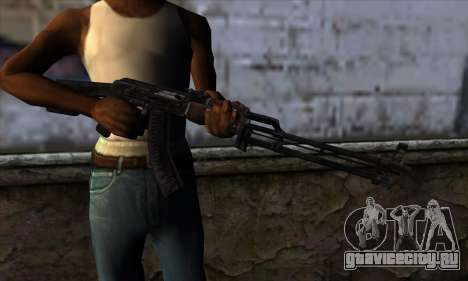 AK47 from State of Decay для GTA San Andreas третий скриншот