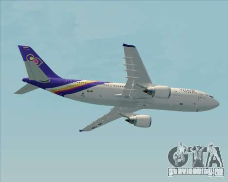 Airbus A300-600 Thai Airways International для GTA San Andreas двигатель
