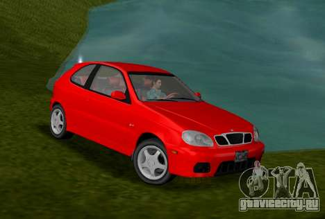 Daewoo Lanos Sport 2001 г. США для GTA Vice City
