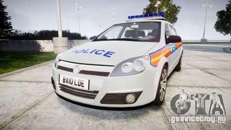 Vauxhall Astra 2010 Metropolitan Police [ELS] для GTA 4