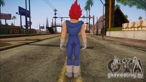 Vegeta Dios Skin для GTA San Andreas второй скриншот