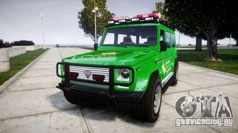 GTA V Benefactor Dubsta [ELS] Sheriff для GTA 4