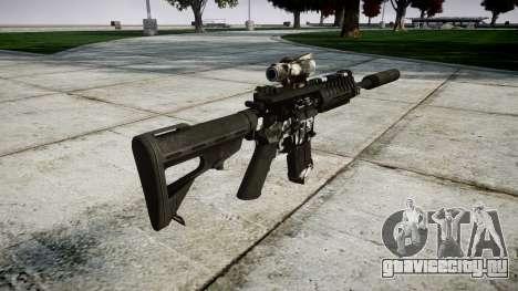 Автомат P416 ACOG silencer PJ3 для GTA 4 второй скриншот