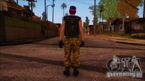 Guerilla from Counter Strike Condition Zero для GTA San Andreas второй скриншот