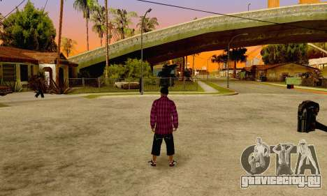 The Ballas Gang Skin Pack для GTA San Andreas