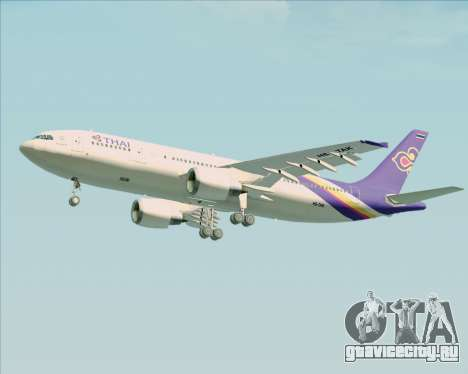 Airbus A300-600 Thai Airways International для GTA San Andreas вид сбоку