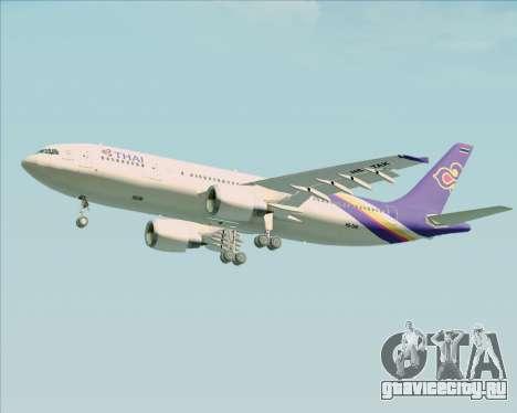 Airbus A300-600 Thai Airways International для GTA San Andreas вид сбоку
