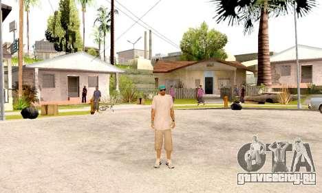 Varios Los Aztecas Gang Skin pack для GTA San Andreas пятый скриншот