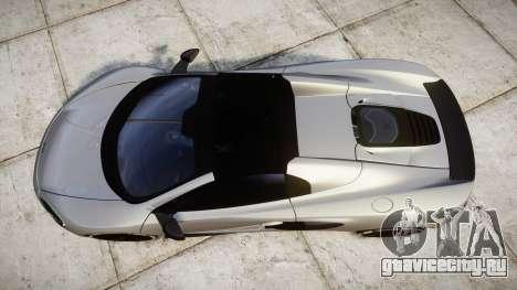 McLaren 650S Spider 2014 [EPM] v2.0 для GTA 4 вид справа