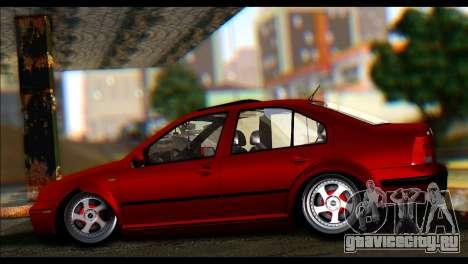 Volkswagen BorAir для GTA San Andreas вид слева