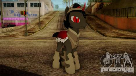 King Sombra from My Little Pony для GTA San Andreas