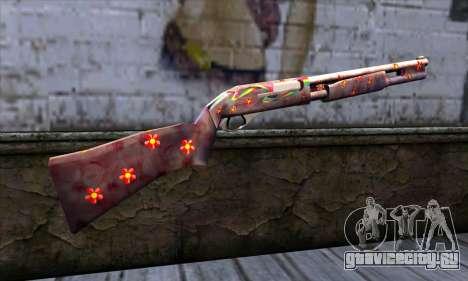Chromegun v2 Цветная раскраска для GTA San Andreas второй скриншот