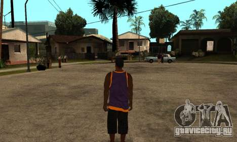 The Ballas Skin Pack для GTA San Andreas второй скриншот