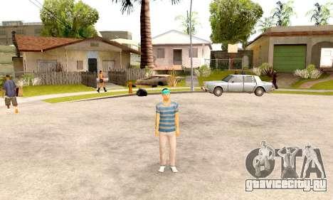 Varios Los Aztecas Gang Skin pack для GTA San Andreas третий скриншот
